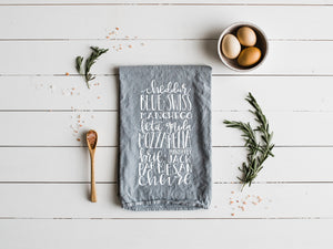 Cheese Enthusiast Tea Towel
