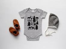 Load image into Gallery viewer, Baby's First Christmas Organic Bodysuit
