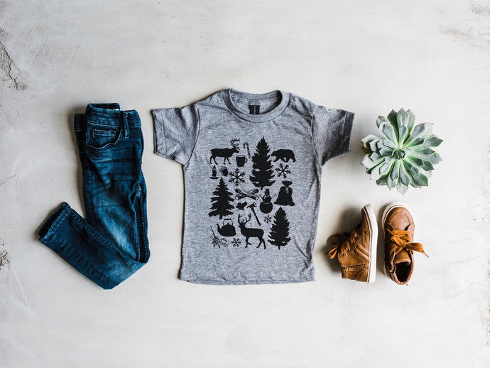 Cozy Christmas Kids Tee