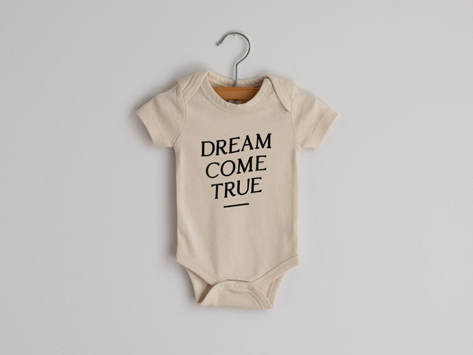 Dream Come True Organic Baby Bodysuit