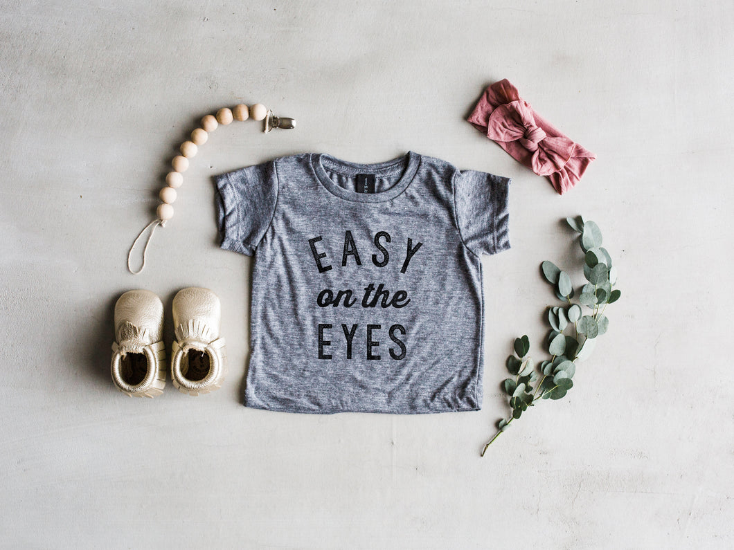 Easy On The Eyes Baby Tee