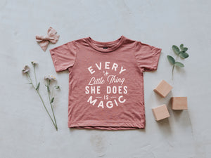 Every Little Thing She Does Is Magic Baby Tee