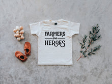 Farmers Are Heroes Organic Kids Tee