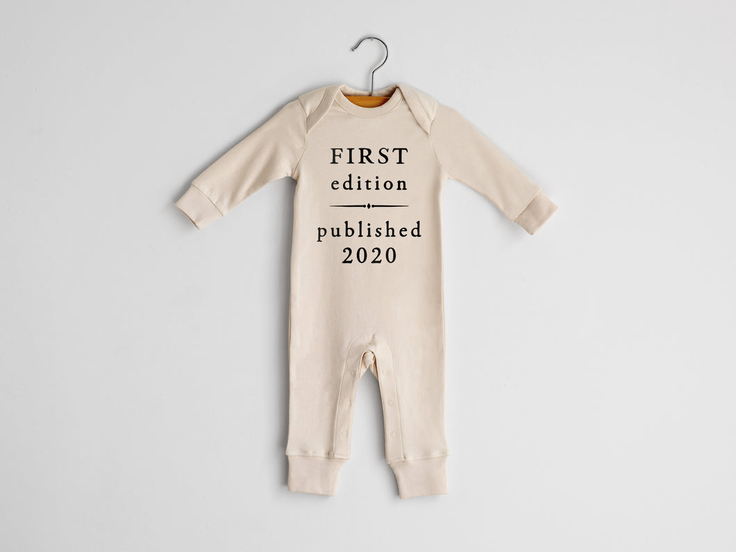 First Edition Published 2020 Full Body Organic Baby Romper