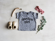 Load image into Gallery viewer, Garden Girl Baby & Kids Tee