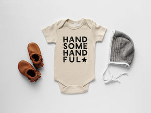 Handsome Handful Organic Baby Bodysuit