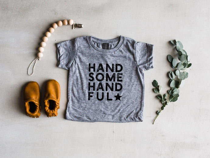 Handsome Handful Baby Tee