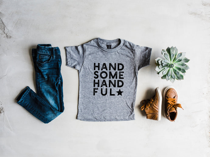 Handsome Handful Kids Tee
