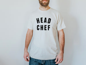 Head Chef Organic Adult Tee