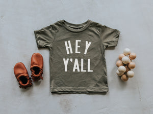Hey Y'All Baby & Kids Tee