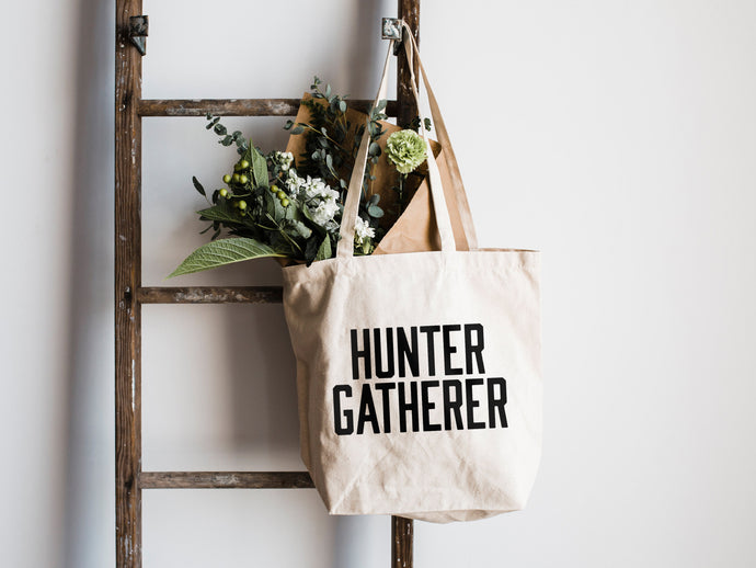Hunter Gatherer Canvas Tote Bag