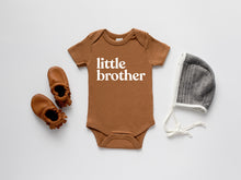 Load image into Gallery viewer, Little Brother Organic Baby Bodysuit