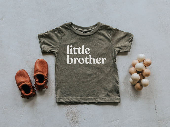 Little Brother Baby and Kids Tee