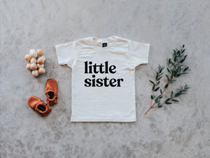 Little Sister Organic Baby & Kids Tee