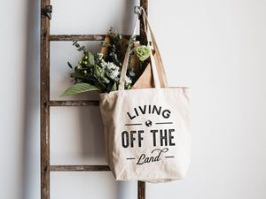 Living Off The Land Canvas Tote Bag