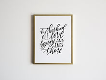 Load image into Gallery viewer, Motherhood Calligraphy Quote Print