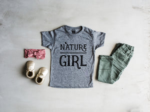 Nature Girl Kids Tee