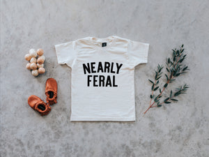 Nearly Feral Organic Kids Tee