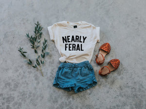 Nearly Feral Kids Tee