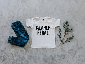 Nearly Feral Organic Baby & Kids Tee