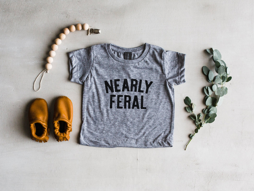 Nearly Feral Baby Tee