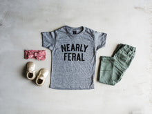 Load image into Gallery viewer, Nearly Feral Baby & Kids Tee