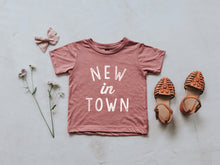 Load image into Gallery viewer, New In Town Baby Tee