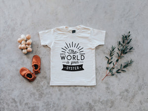 The World Is Your Oyster Organic Kids Tee