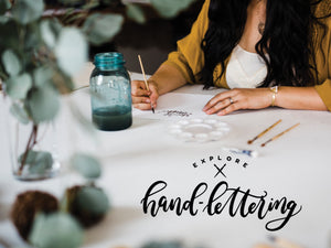 Explore Hand Lettering Workshop Ticket • February 28, 2019