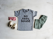 Load image into Gallery viewer, So Very Loved Baby & Kids Tee