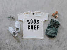 Load image into Gallery viewer, Sous Chef Organic Baby & Kids Tee