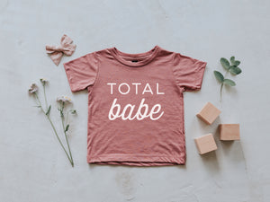 Total Babe Baby Tee