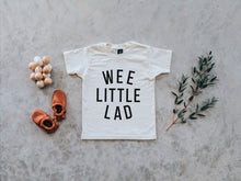 Load image into Gallery viewer, Wee Little Lad Organic Baby & Kids Tee