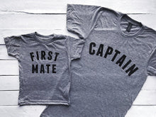 Captain & First Mate Matching Father Son Shirts