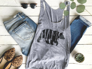 Mama Bear Adult Tank Top