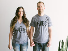 Hubs & Wifey Set of 2 Adult Tees