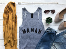 Load image into Gallery viewer, Maman Adult Tank Top
