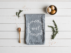 Noël Christmas Tea Towel