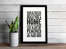 Load image into Gallery viewer, Spanish Pipedream Lyrics Print