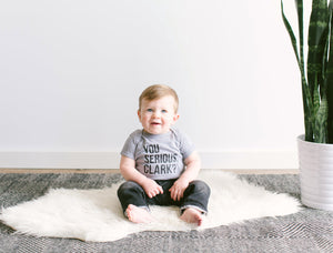 You Serious Clark? Organic Baby Bodysuit