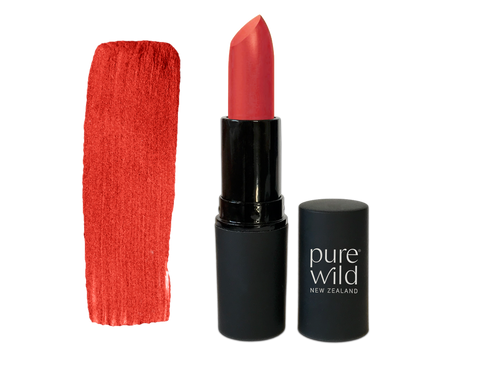 Moana Coral Lipstick. Pure Wild®. Made in New Zealand. www.purewild.co.nz