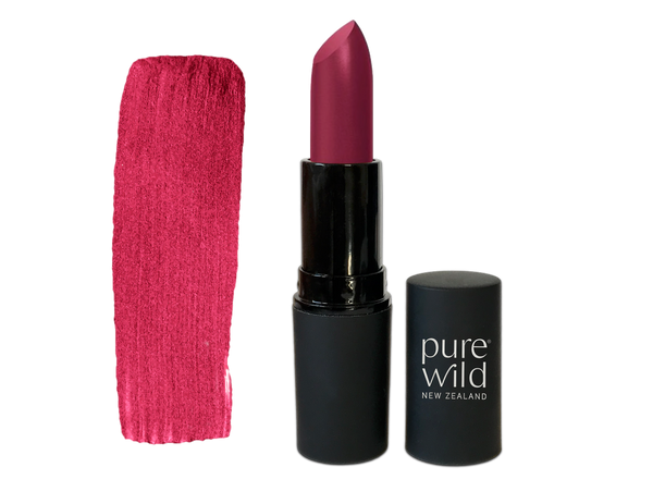 Pipi Pink Lipstick. Pure Wild®. Made in New Zealand. www.purewild.co.nz