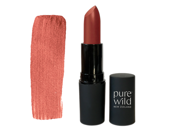 Dawn Blush Lipstick. Pure Wild®. Made in New Zealand. www.purewild.co.nz