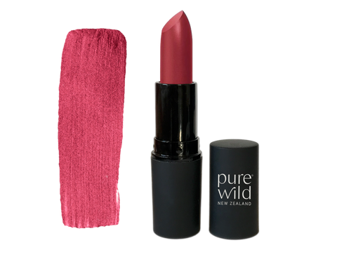 Aroha Merlot Lipstick. Pure Wild®. Made in New Zealand. www.purewild.co.nz