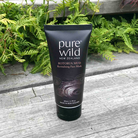 Rotorua Mud Face Mask 80ml. Pure Wild®. Made in New Zealand.