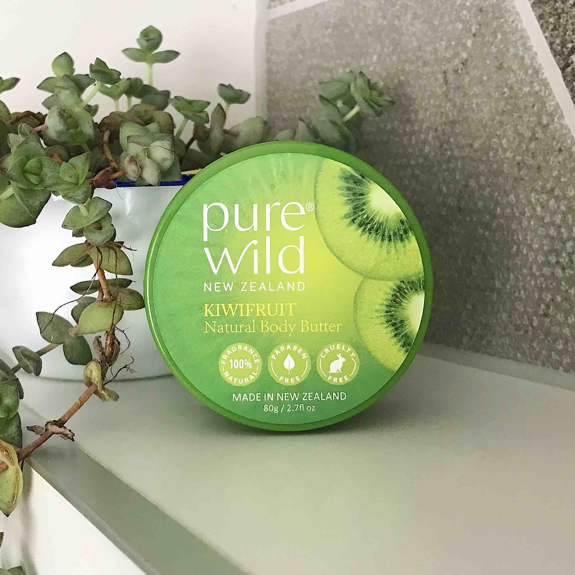 Kiwifruit Natural Body Butter 80g. Pure Wild®. Made in New Zealand