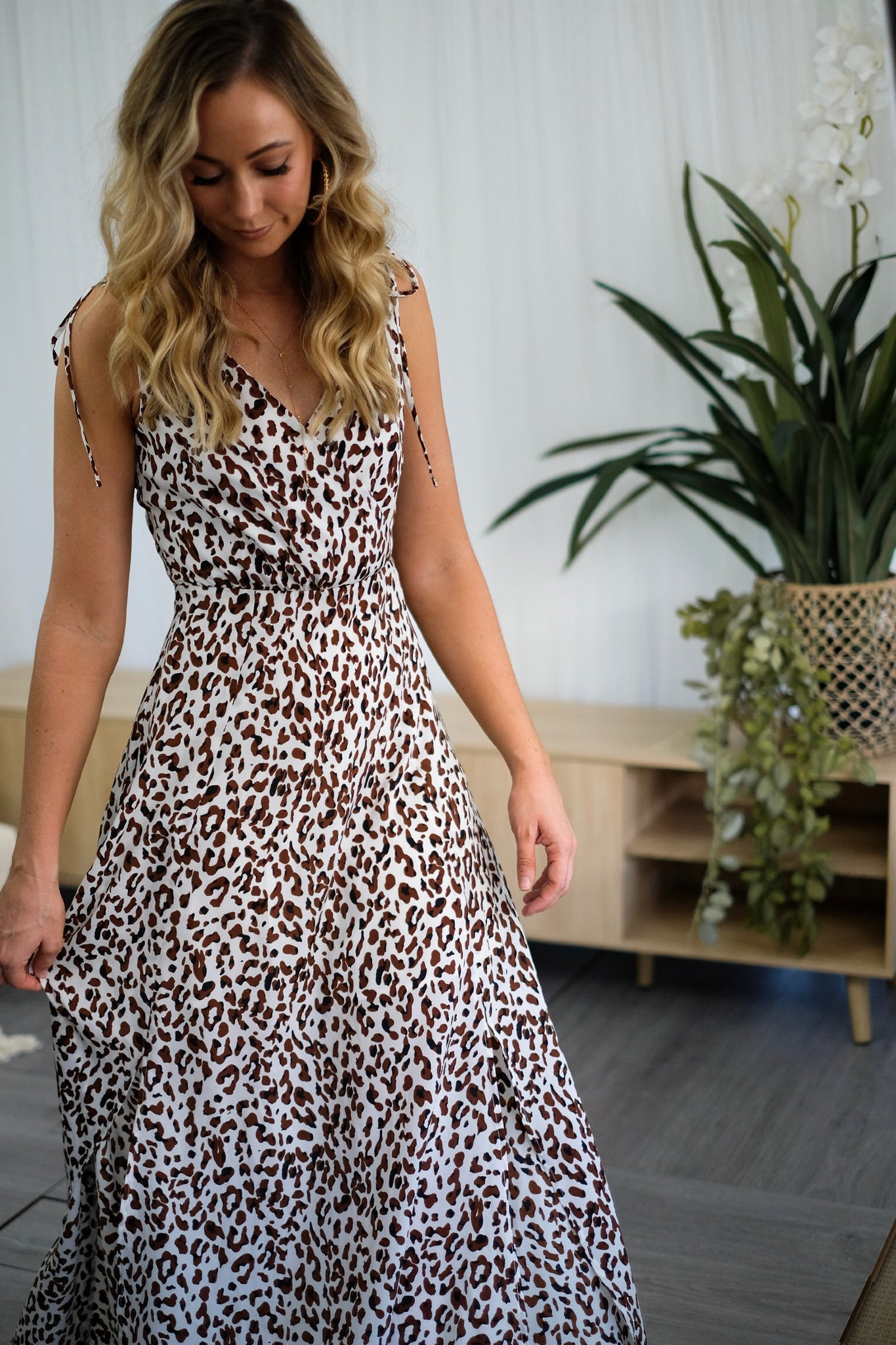 GRACIE Leopard Maxi Dress