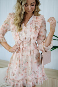 BLISS Floral Dress