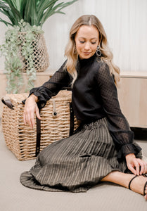TARA Pleated Skirt
