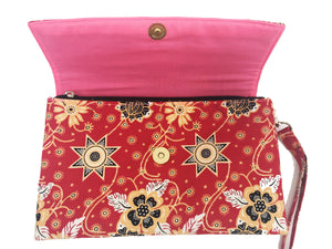 CWO Two-Way Bag / Clutch (Pink)